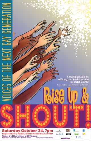 Rise up poster 2009